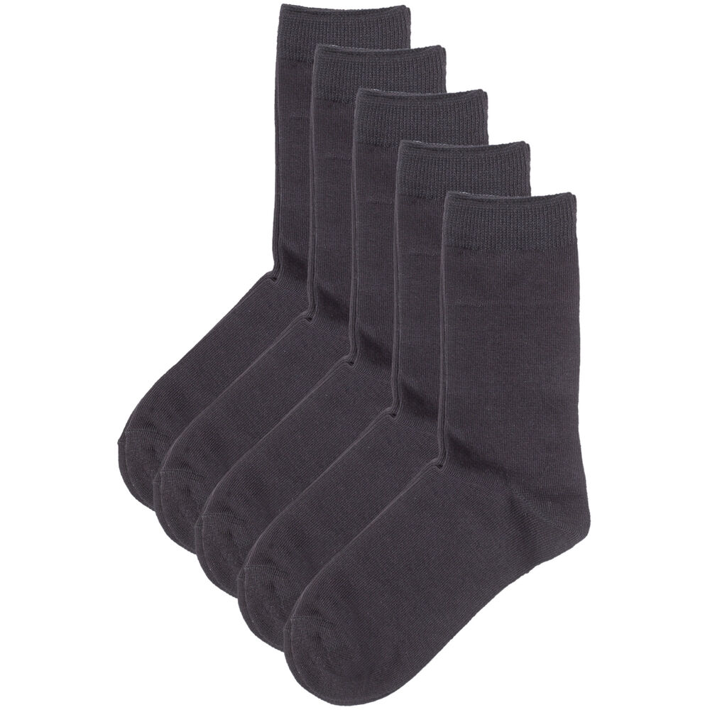 Ekologiska strumpor 5-pack 37-40, black, hi-res