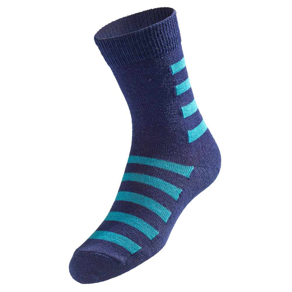 ULLSOKKER, navy mint stripe 2-17, hi-res