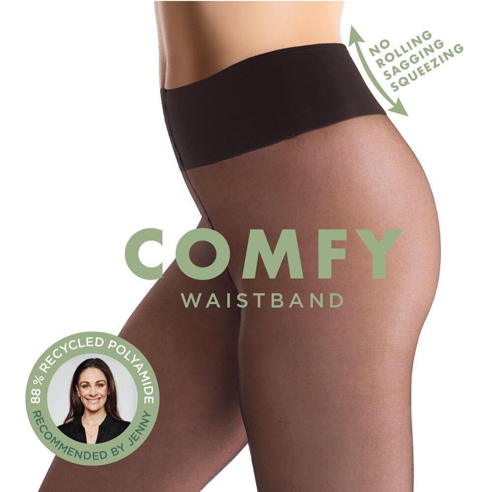 Comfy tights strømpebukse 20 den, black, hi-res