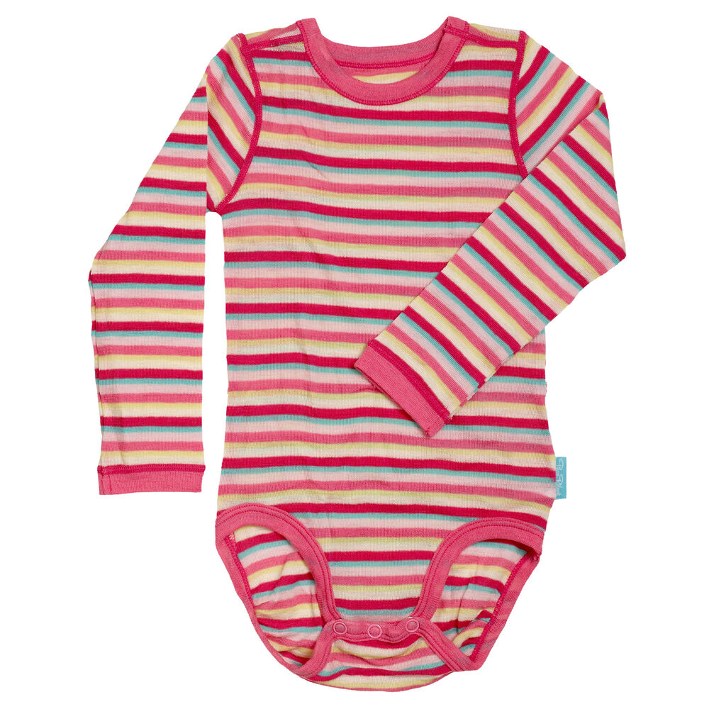Sommerull Baby Body, pink tutti frutti, hi-res