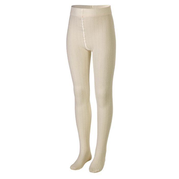1e9d6166 GIRL WOOL TIGHTS off white