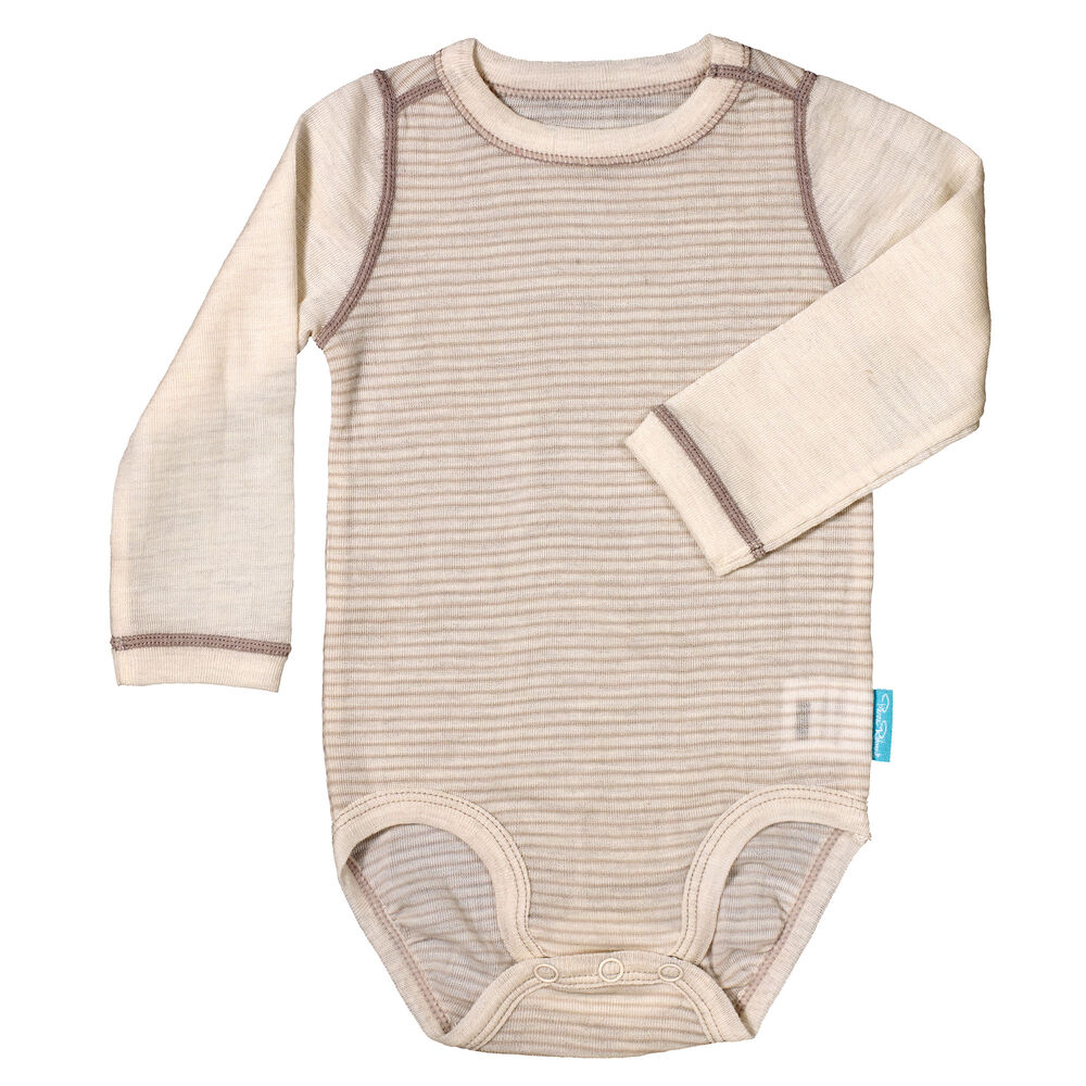 Sommerull Baby Body, off white sand, hi-res