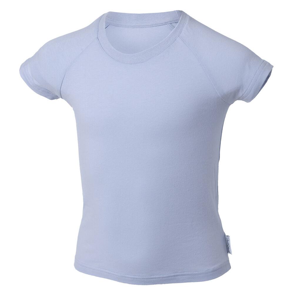 T-Skjorte Økologisk Bomull, light blue, hi-res