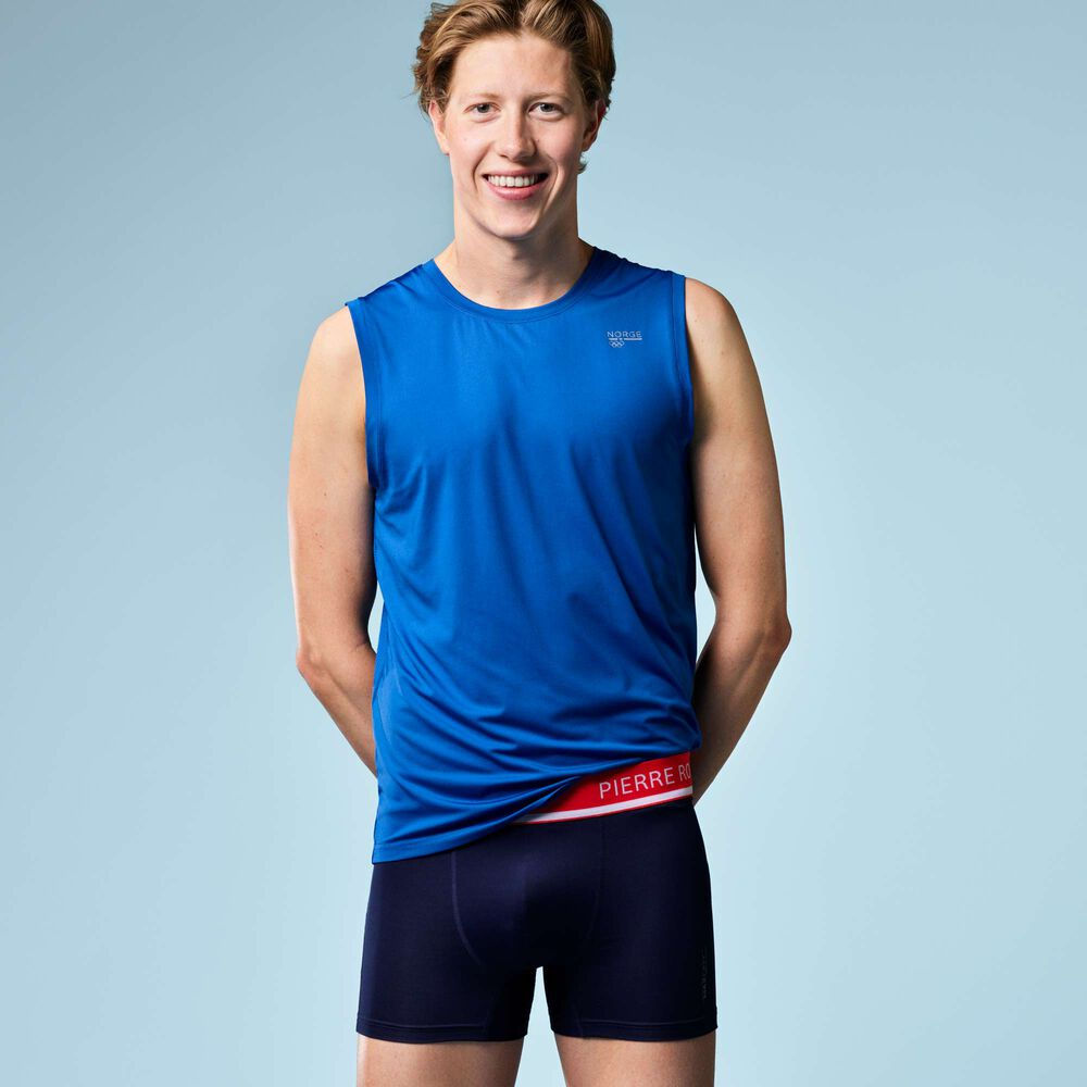 Boxershorts sport herre Team Norge, norway navy, hi-res