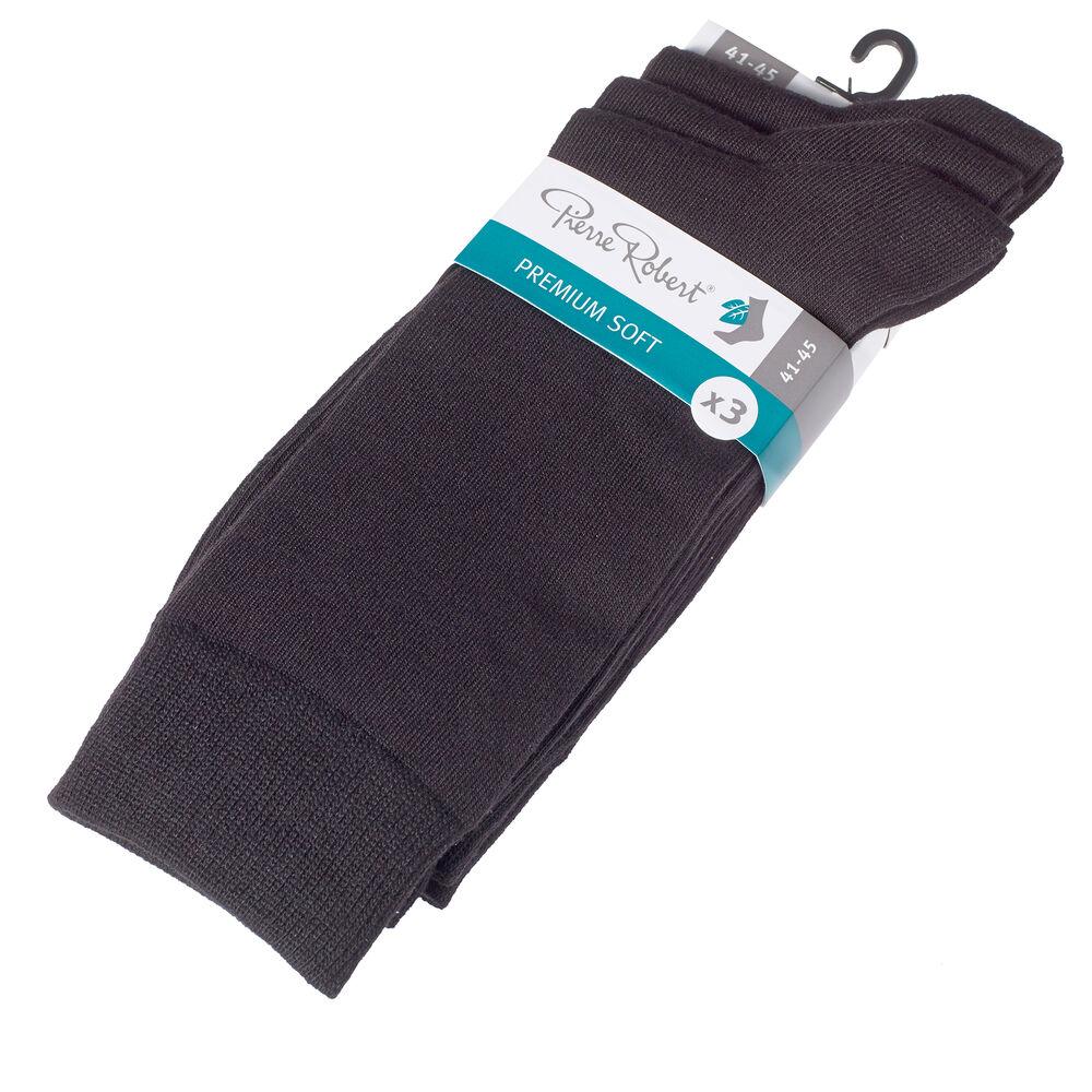 Strumpor premium soft 41-45, black m, hi-res