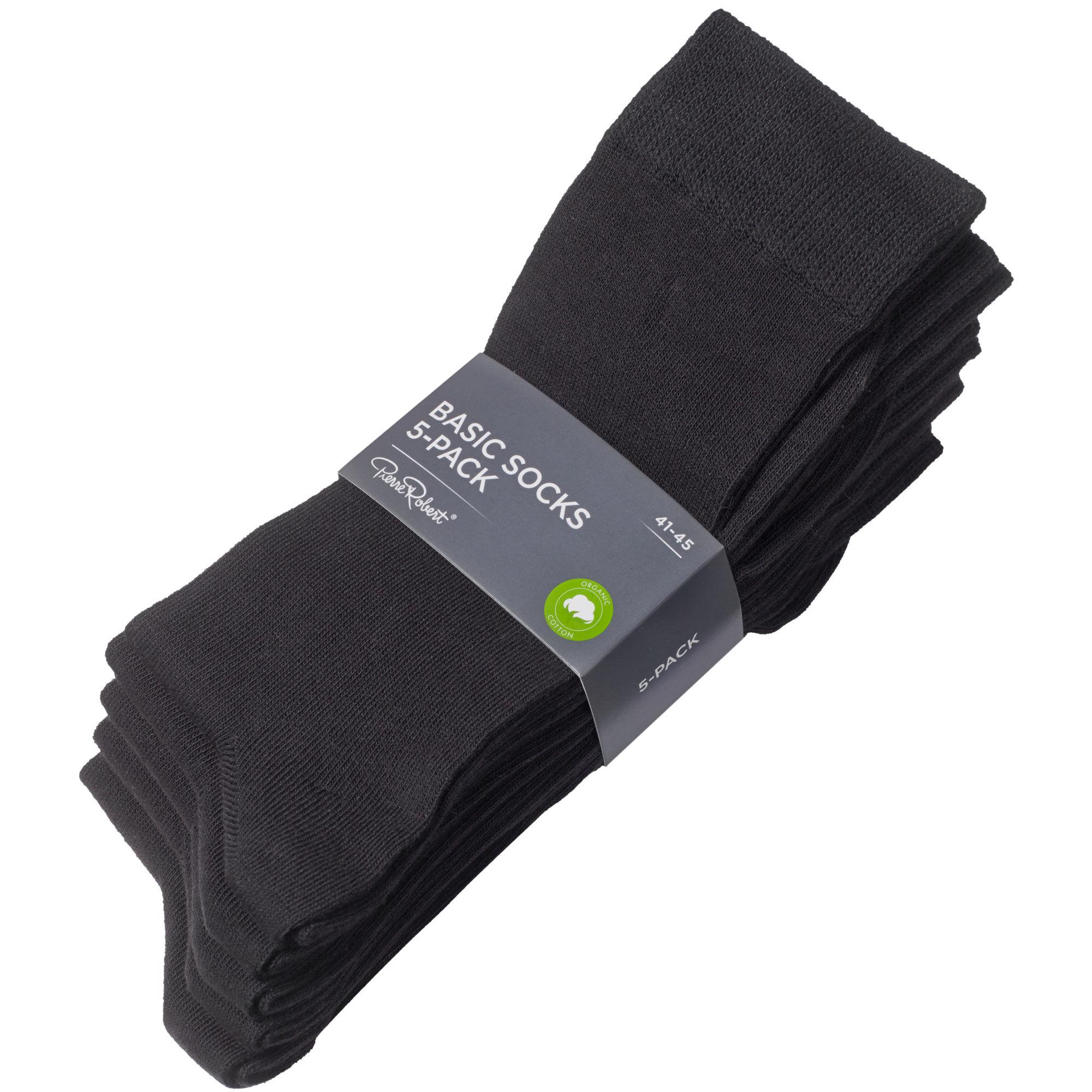 Svart store sokker