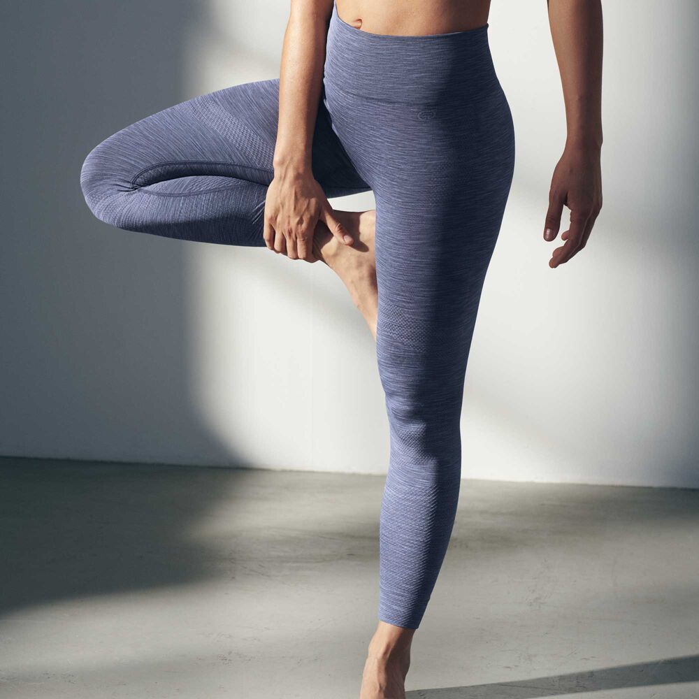 Yoga tights, hydro blue, hi-res