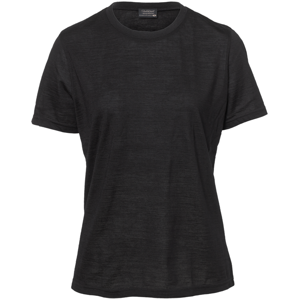 Loose fit t-shirt Jenny Skavlan, black, hi-res