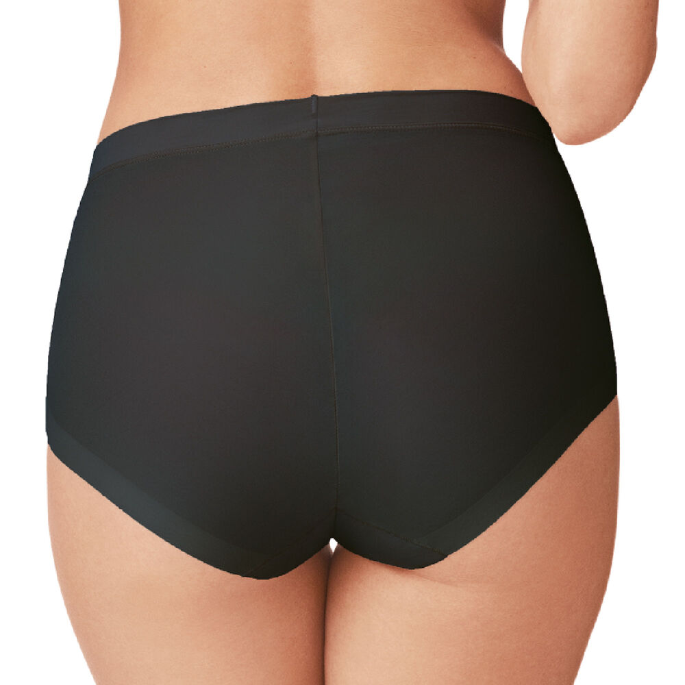 Truse invisible high waist mikrofiber, black, hi-res