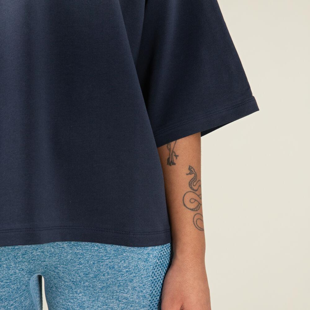 T-paita oversize, blue/black, hi-res