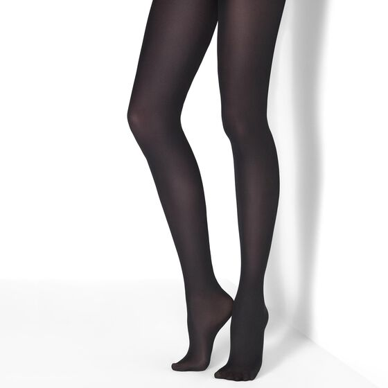 TIGHTS 50 DEN Black, svart, hi-res