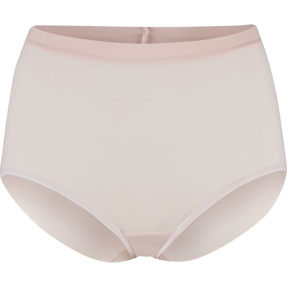 Truse invisible high waist mikrofiber, chalk pink, hi-res