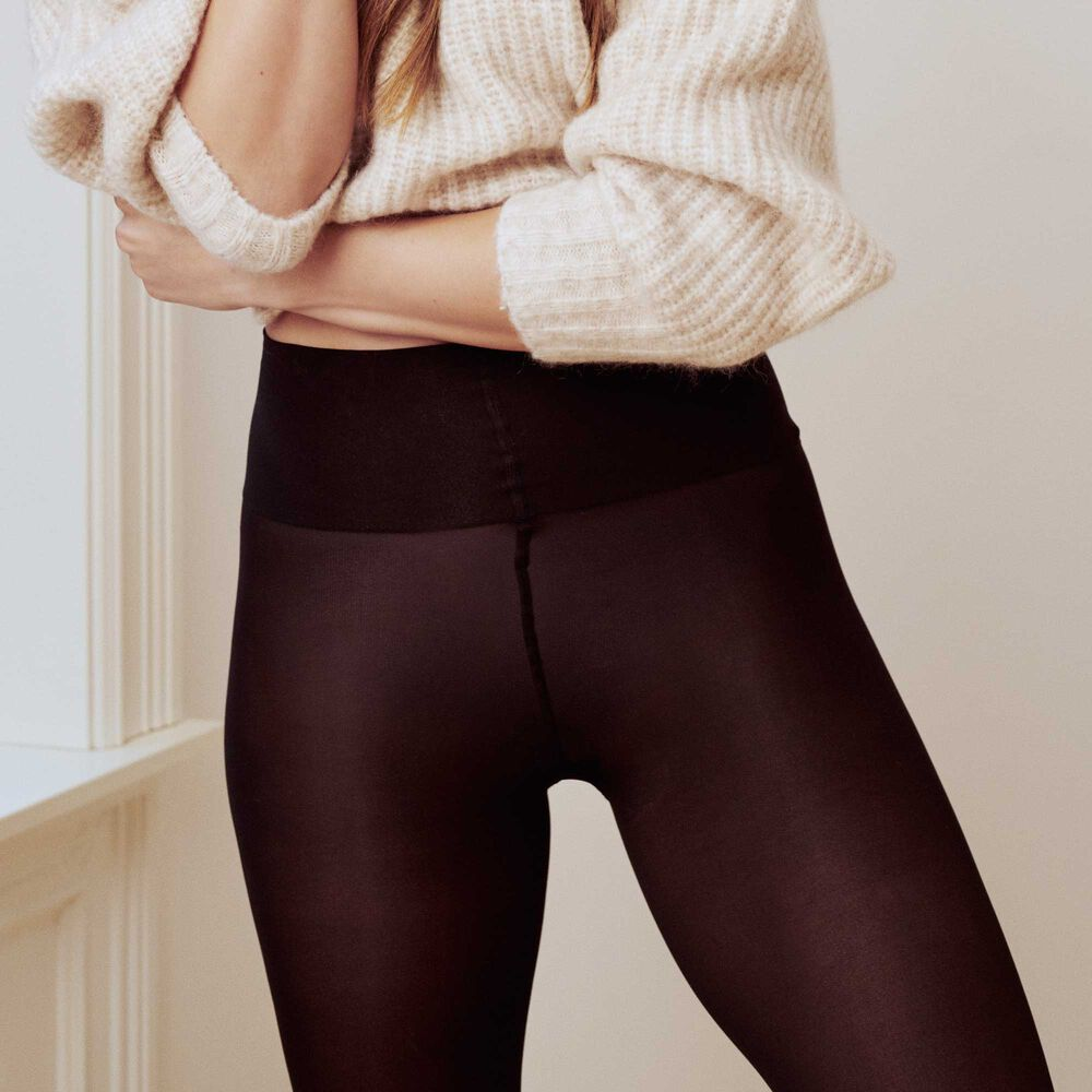 Comfy tights 50 denier strumpbyxor, black, hi-res