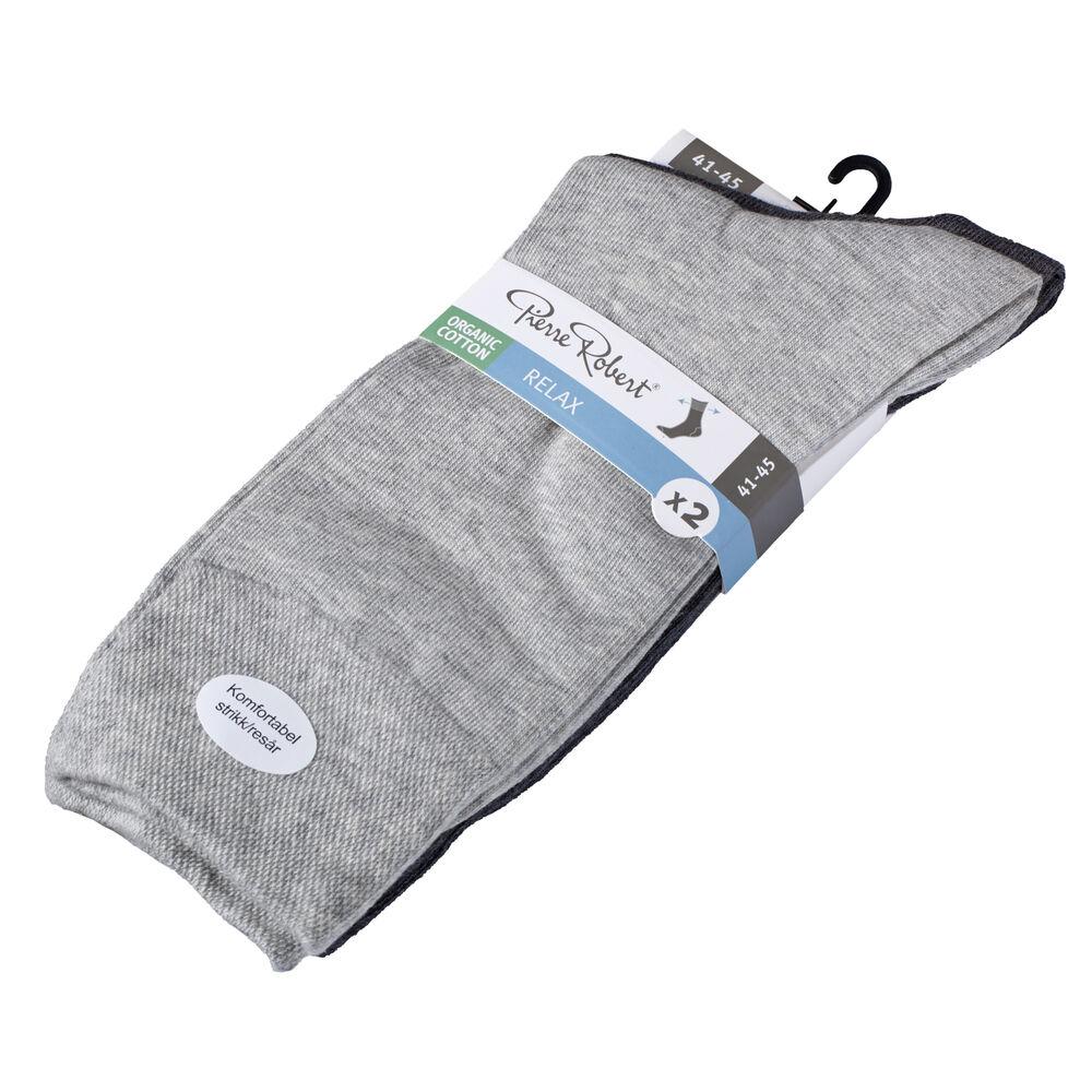 Sokker herre økologisk bomull