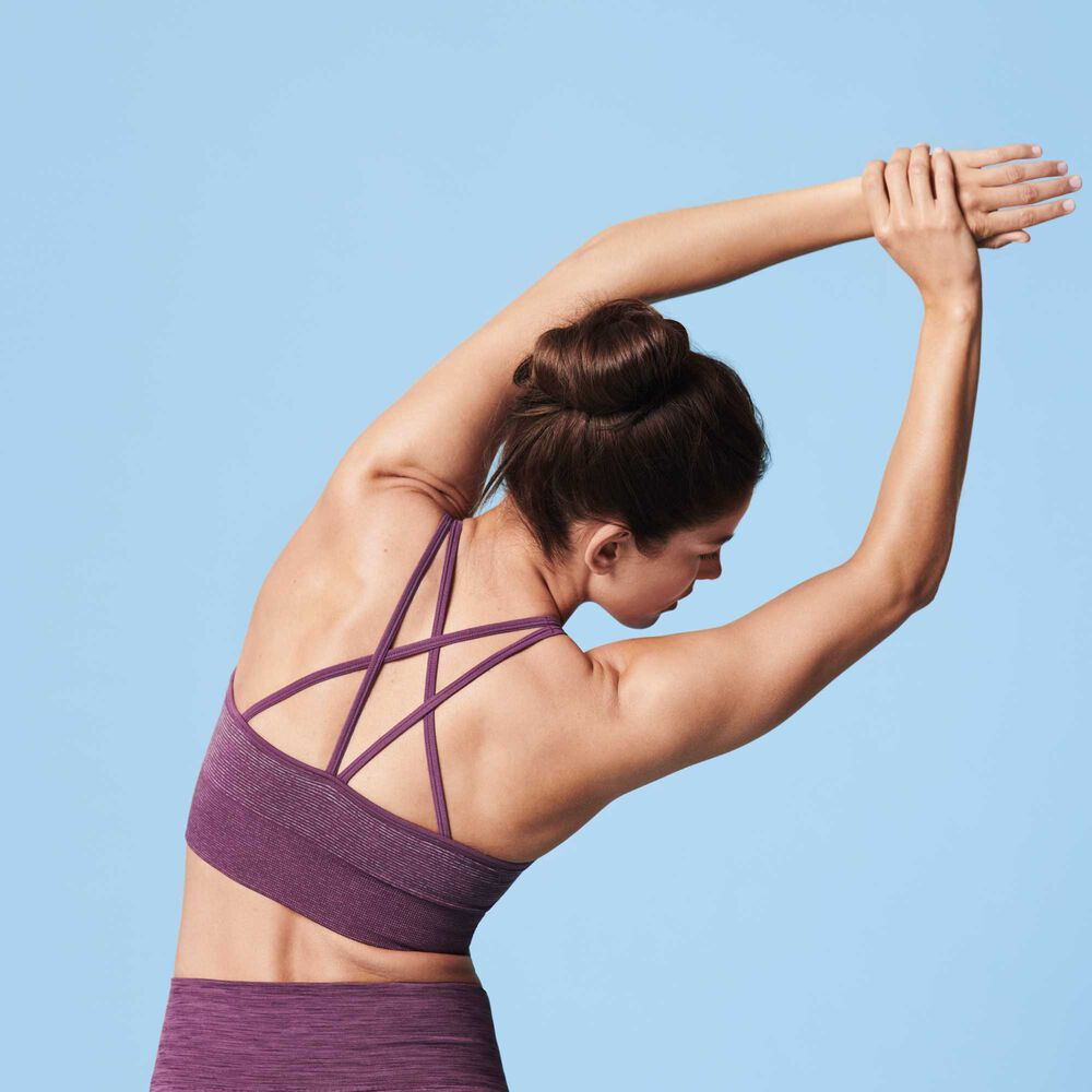Sports BH Yoga, light burgundy, hi-res