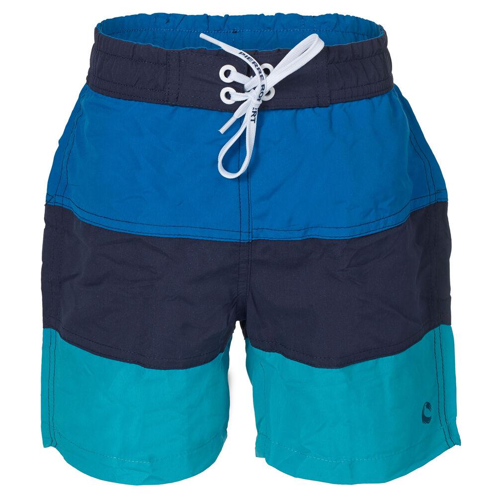 Badeshorts, tricolour ocean, hi-res