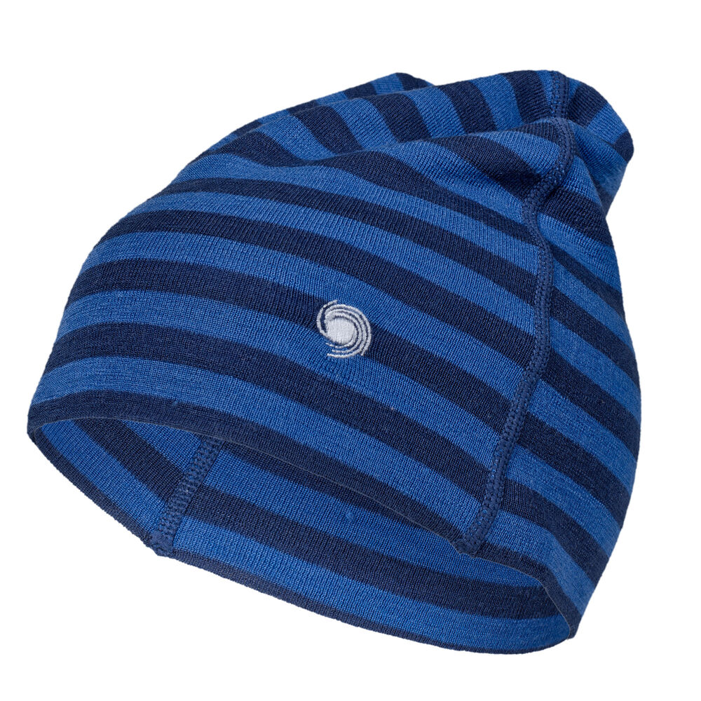 WOOL HAT Blue Navy Stripe 2-17, blue navy stripe 2-17, hi-res