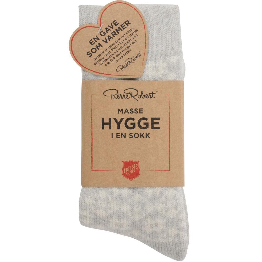 Hyggesokken, light grey, hi-res