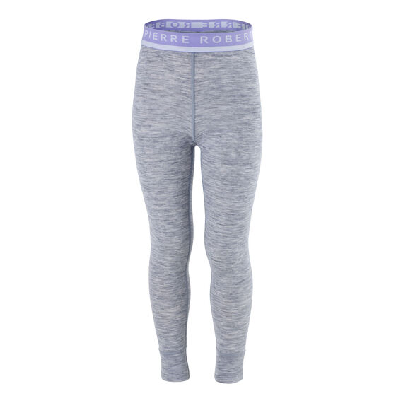 Ull Longs Grå med Lilla, light grey melange  w.violet, hi-res