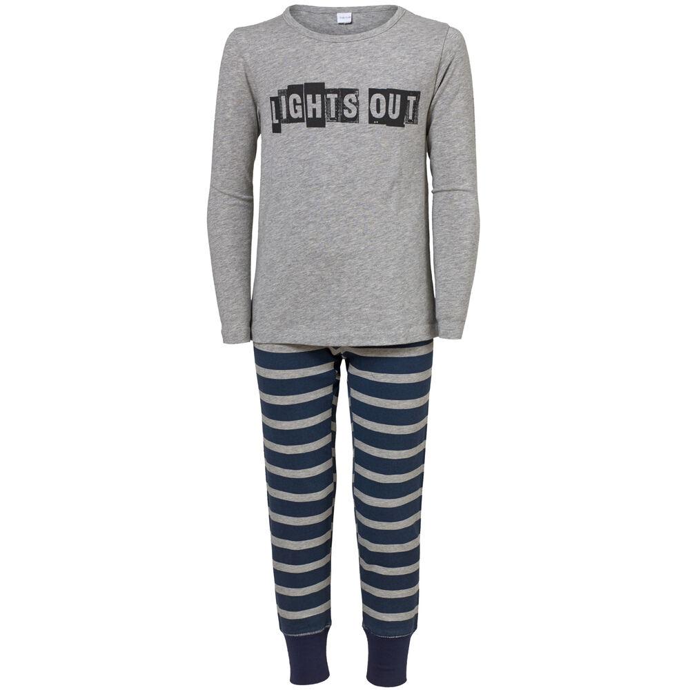Pyjama, grey, hi-res