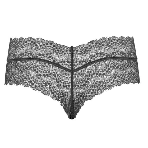 SOFT LACE CHEEKY Barely Black, barely black - web, hi-res
