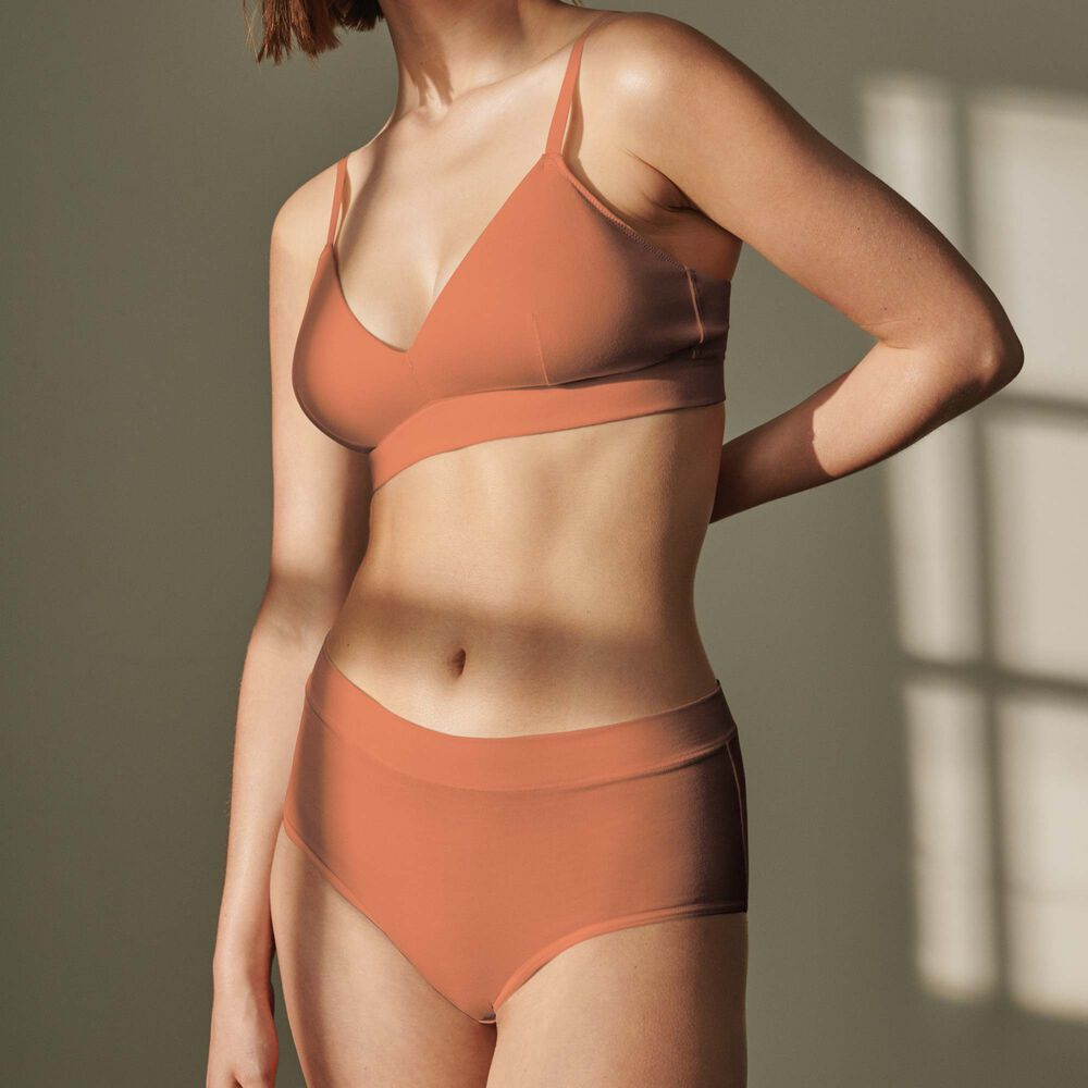Truse high waist Jenny Skavlan, earth, hi-res